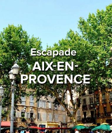 Escapade Aix en Provence voiture Vintage