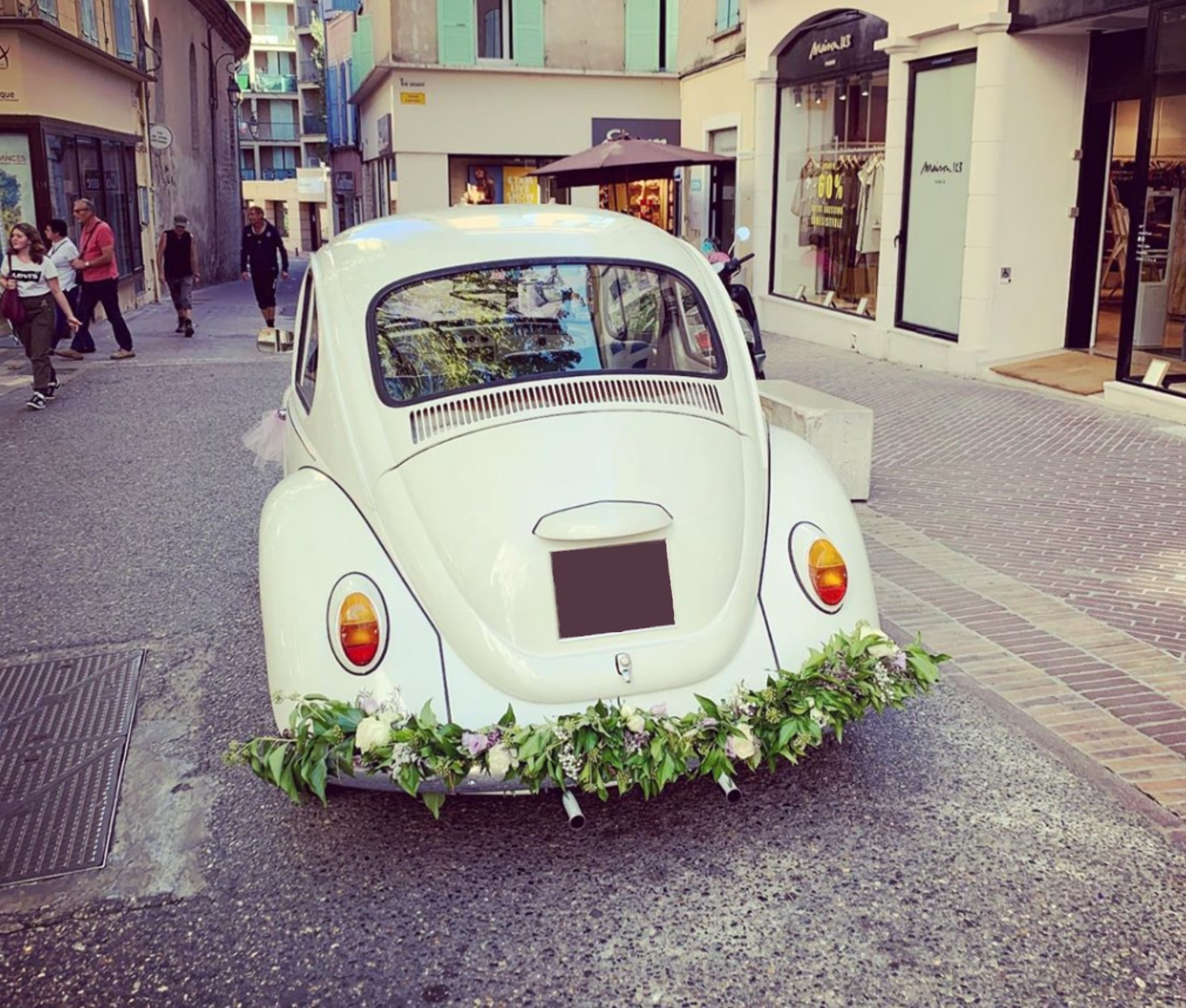 Volkswagen Coccinelle mariage Aix en Provence